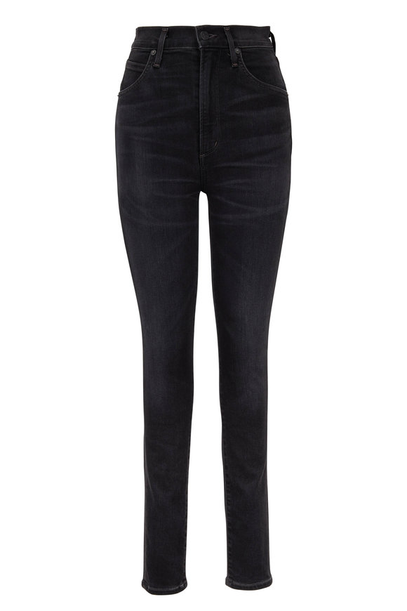 Citizens of Humanity Chrissy Black Uber High-Rise Jean