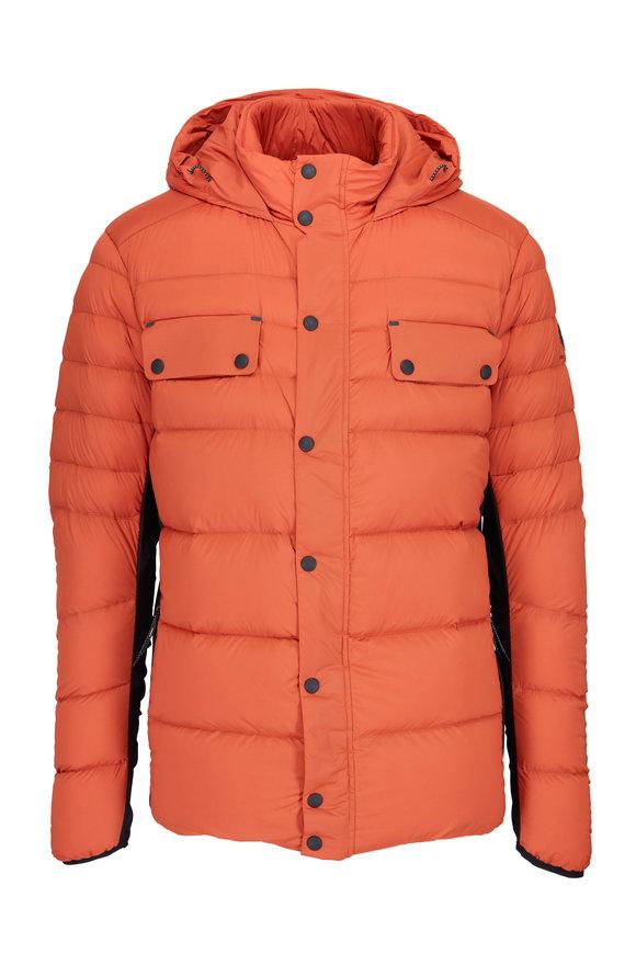 Belstaff Atlas Tamarind Waterproof Hooded Down Jacket