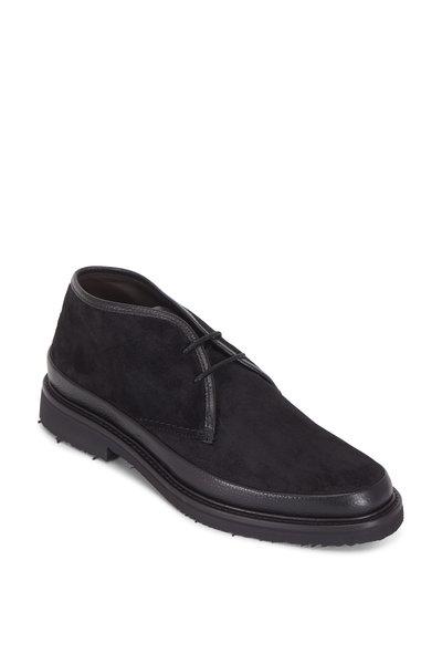 Ermenegildo Zegna - Black Suede Chukka Boot