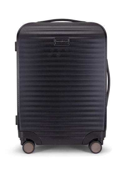 Ermenegildo Zegna - Black Hard-Side Trolley Spinner Luggage