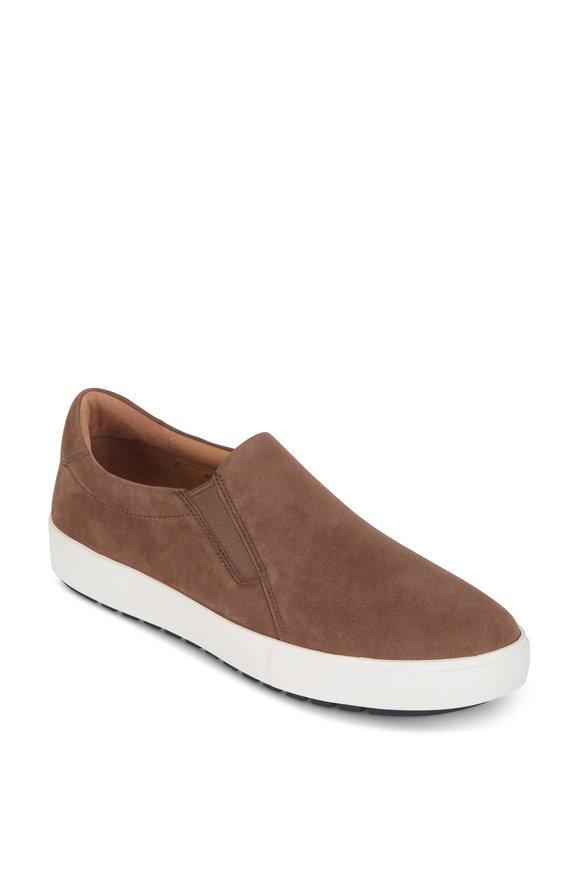 Vince Lee Woodsmoke Suede Slip-On Sneaker