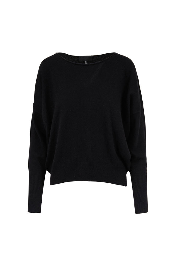 Nili Lotan Odeya Black Cashmere Sweater