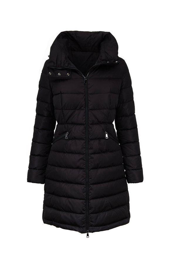 Moncler Flammette Black Puffer Jacket