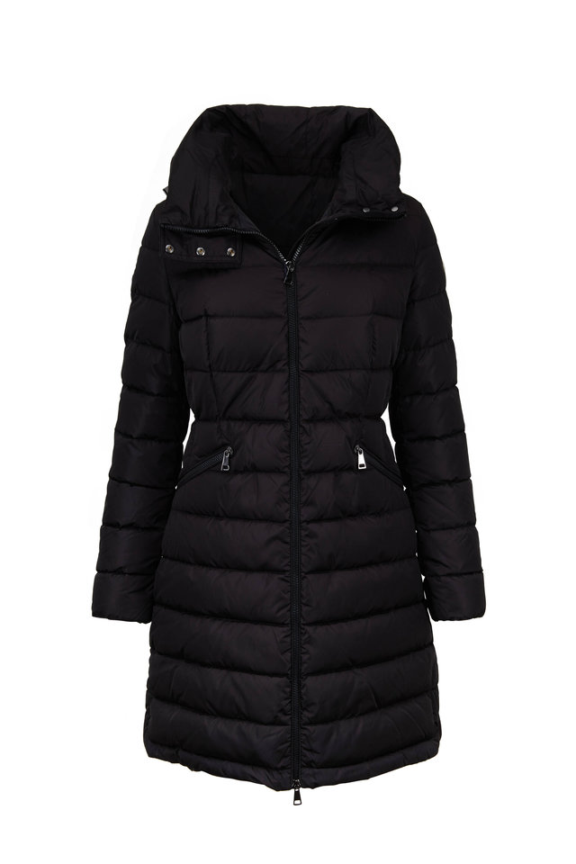 Flammette Black Puffer Jacket