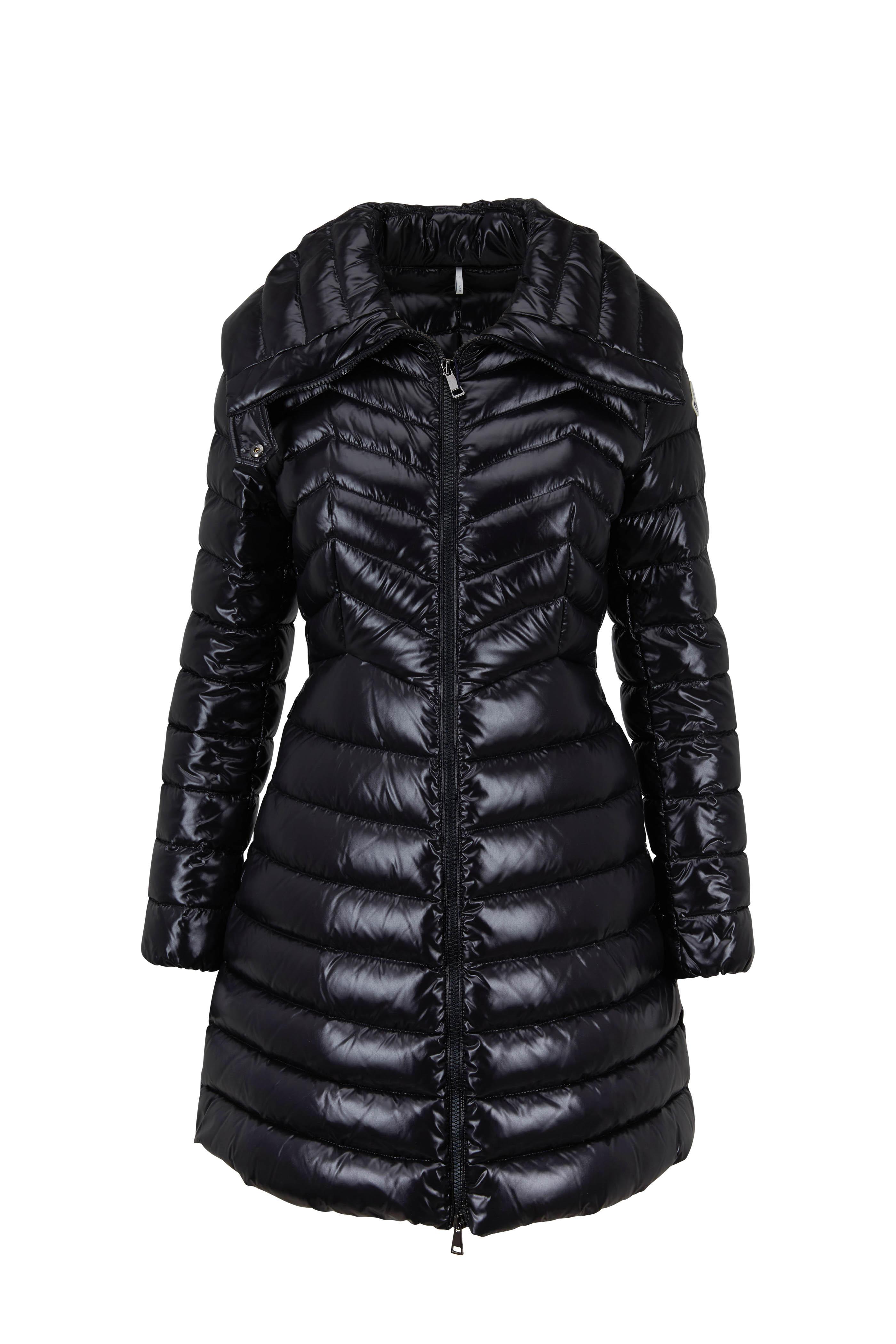 ffac3ebfb69a Moncler - Faucon Black Shiny Puffer Coat