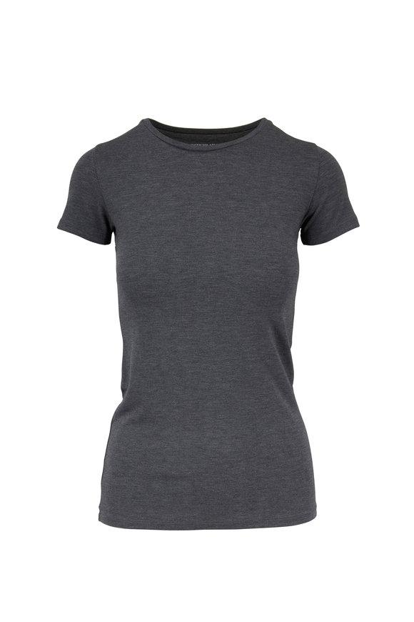 Majestic Gray Superwashed Short Sleeve T-Shirt