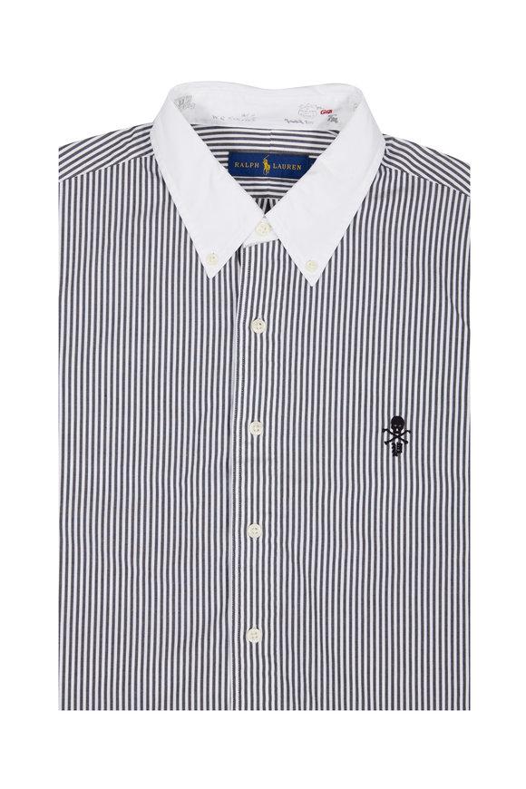 Polo Ralph Lauren Black & White Striped Sport Shirt