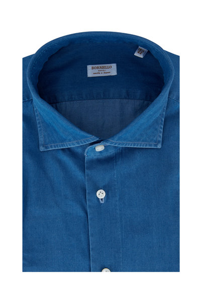 Borriello - Chambray Dress Shirt