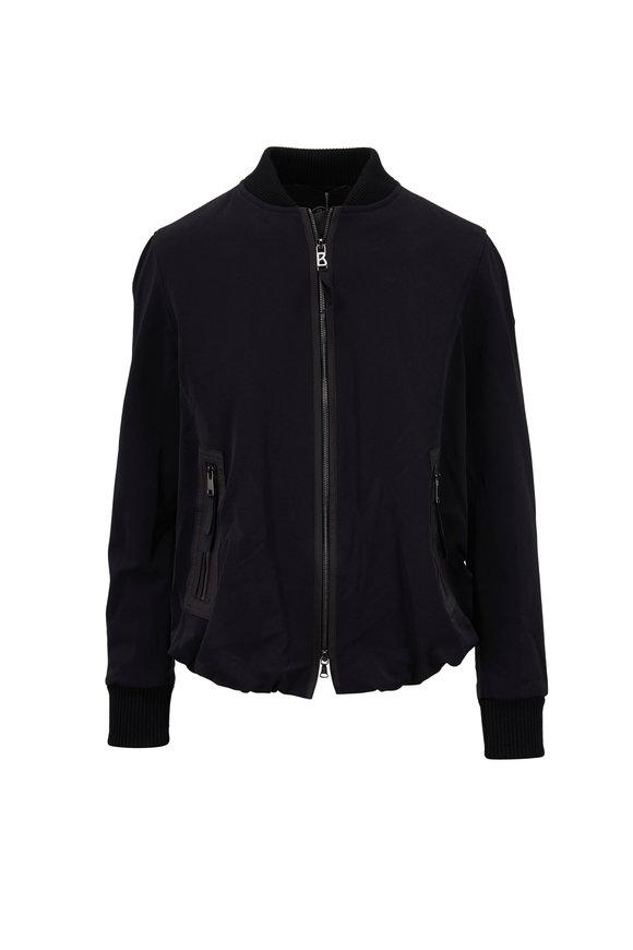 Bogner Macie Black Bomber Jacket