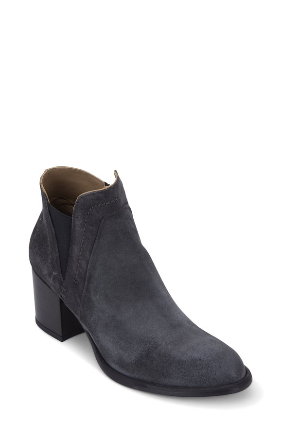 Alberto Fermani Francesca Antracite Weatherproof Bootie, 50mm