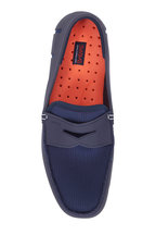 Swims - Navy Blue Mesh & Rubber Penny Driver