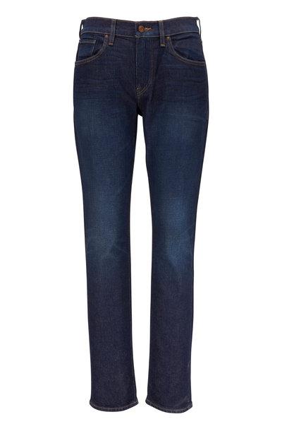 Hudson Clothing - Blake Dark Wash Slim Straight Five Pocket Jean