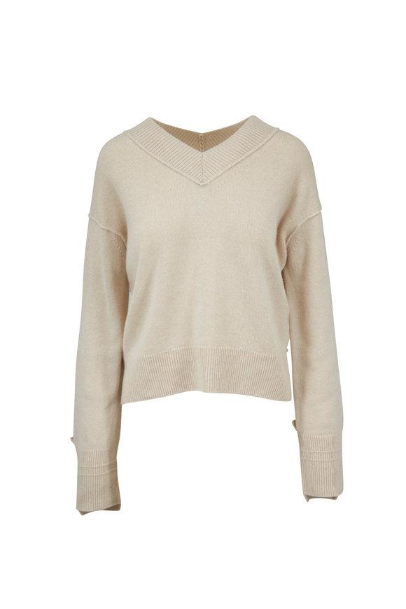 Helmut Lang Naked Cashmere V-Neck Sweater