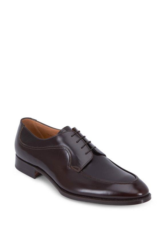 Gravati Rois Ebano Leather Blucher Shoe