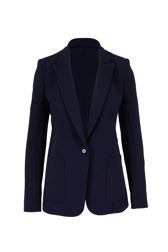 Norisol Ferrari Assassin X Dark Indigo Wool Crepè Jacket