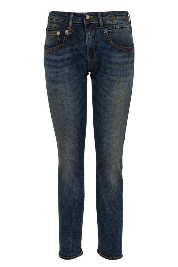 R13 Boy Dark Wash Skinny Jean