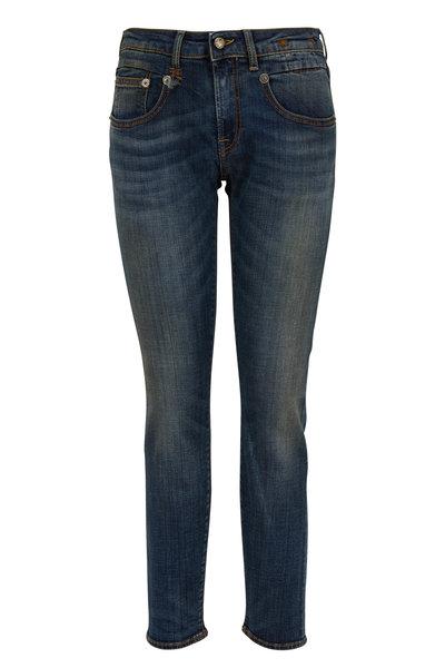 R13 - Boy Dark Wash Skinny Jean
