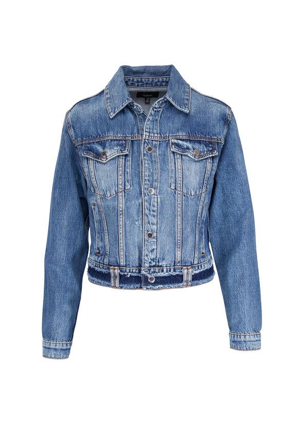 Hudson Clothing Distressed Denim Jacket