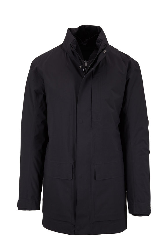 Z Zegna Black 3-In-1 Jacket