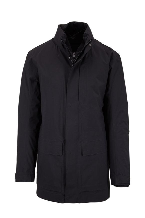 Z Zegna Black 3-In-1 Jacket