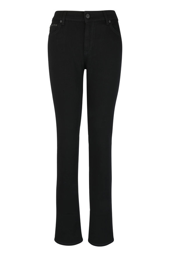 Bogner Grace Black High Waist Straight Jean