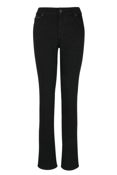 Bogner - Grace Black High Waist Straight Jean
