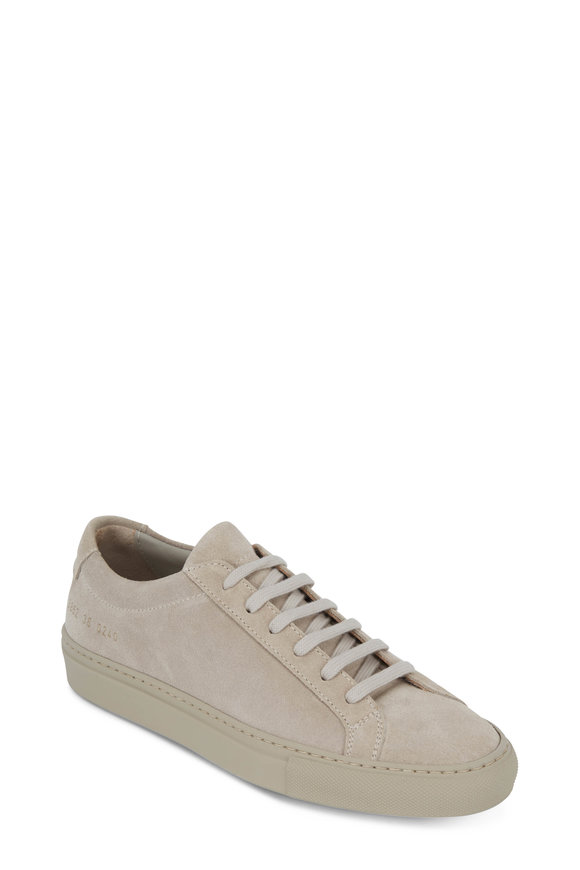WOMAN by COMMON PROJECTS Women's Original Achilles Taupe Low Top Sneaker