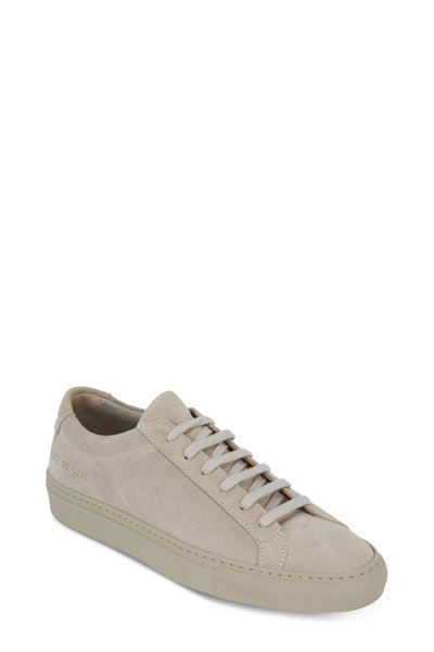 WOMAN by COMMON PROJECTS - Women's Original Achilles Taupe Low Top Sneaker