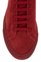 WOMAN by COMMON PROJECTS - Women's Original Achilles Red Low Top Sneaker