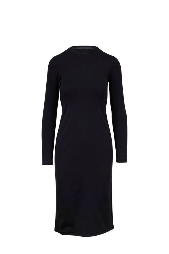 Rag & Bone Russo Black Long Sleeve Knit Dress