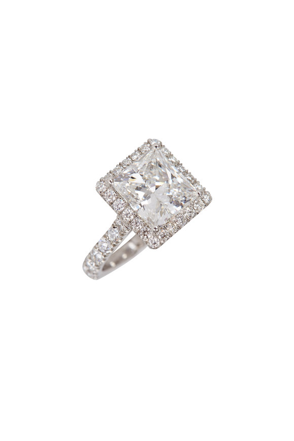 Lowy & Co Princess Cut Diamond Ring
