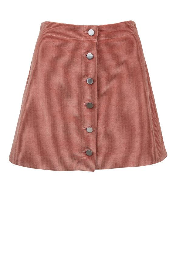 Elizabeth & James Prewitt Cameo Corduroy Mini Skirt