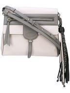 Tod's - Thea Bi-Color Gray Leather Shoulder Bag