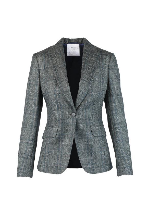 Kiton Green Cashmere, Silk, & Linen Jacket