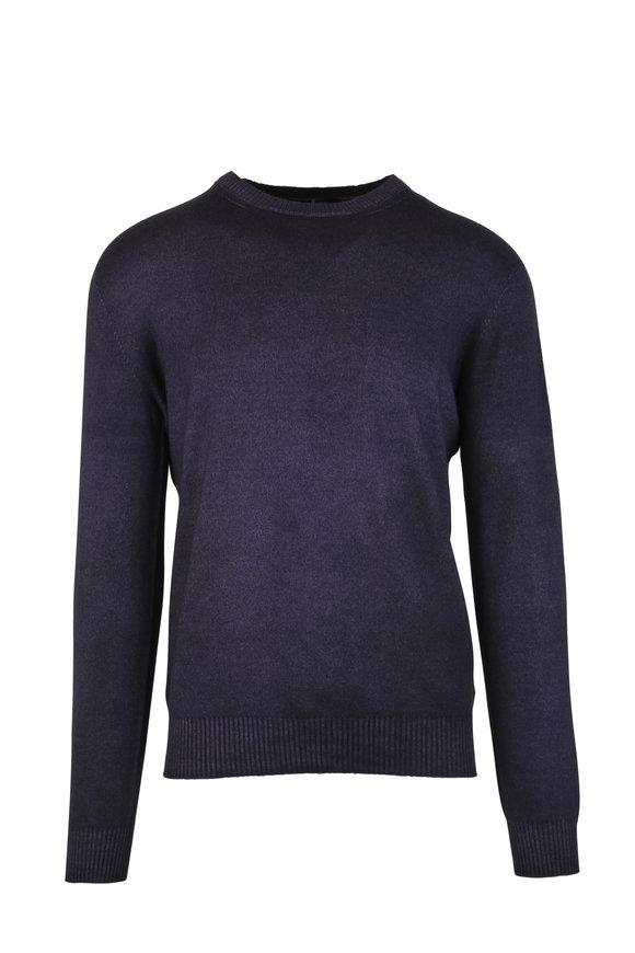 Ermenegildo Zegna Plum Cashmere Sweater