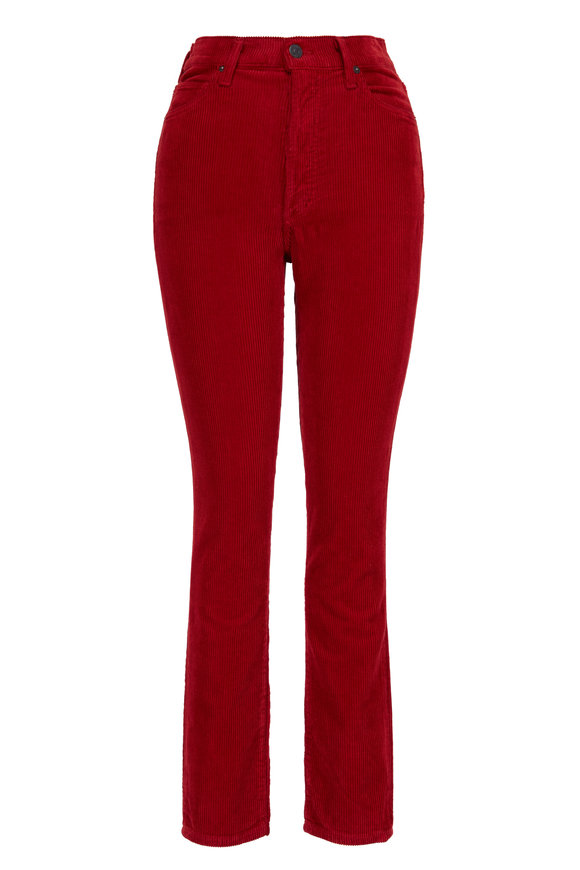 Citizens of Humanity Olivia Ruby Corduroy High Rise Pant