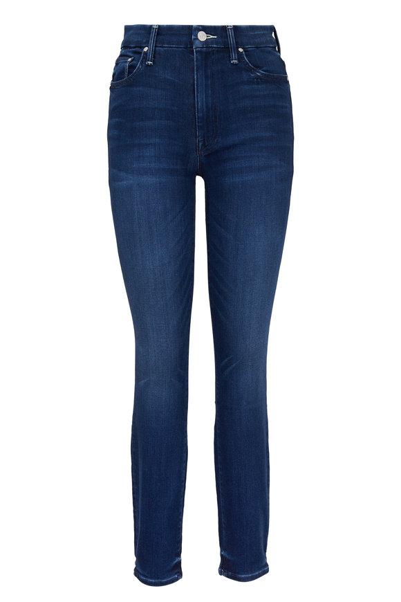 Mother Denim High-Waisted Looker Medium Wash Jean