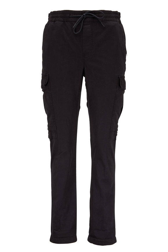 J Brand Fenix Black Cargo Pant
