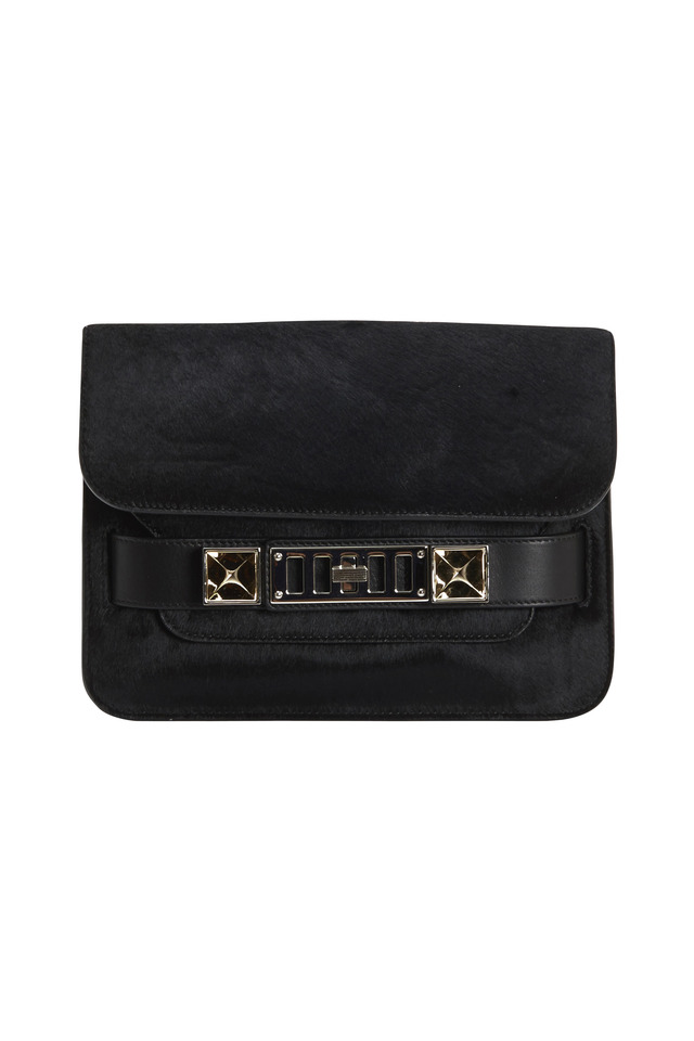 PS11 Mini Classic Pony & Leather Shoulder Bag