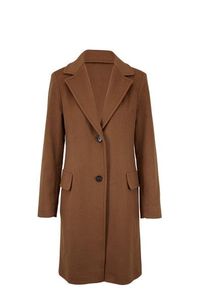 Fleurette - Reefer Vicuna Wool Coat