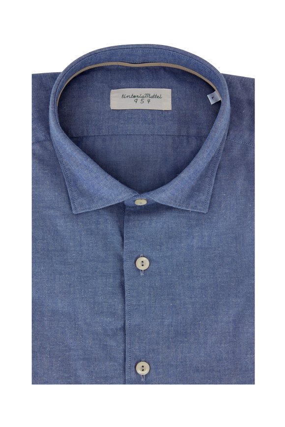 Tintoria Chambray Contemporary Fit Sport Shirt