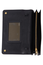 Prada - Black Saffiano Sport Crossbody Wallet