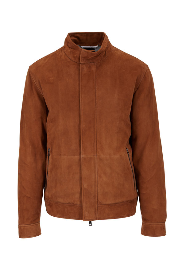 Peter Millar Tan Suede Jacket