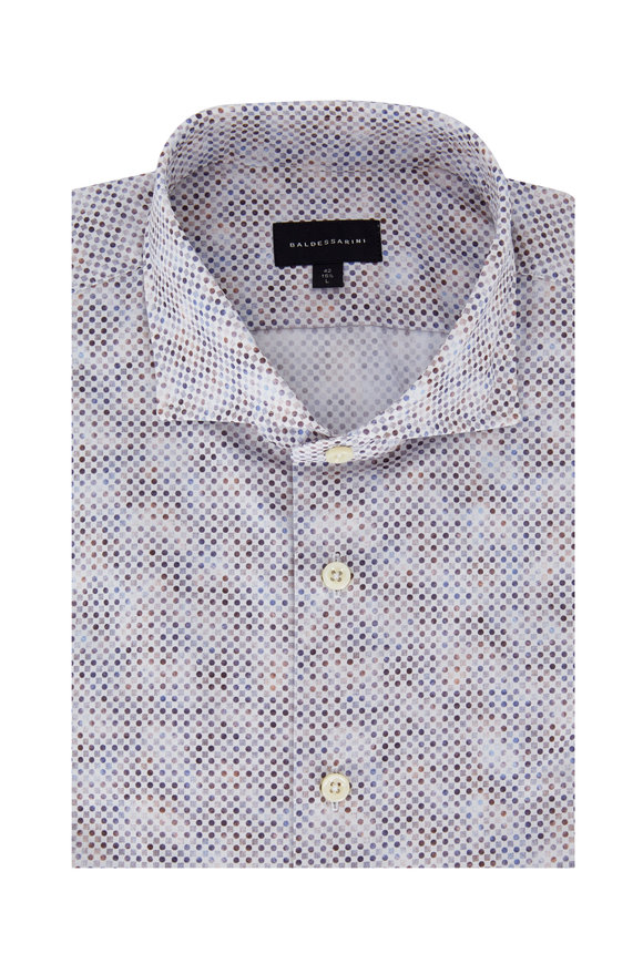 Baldessarini Multi Geometric Tailored Fit Sport Shirt