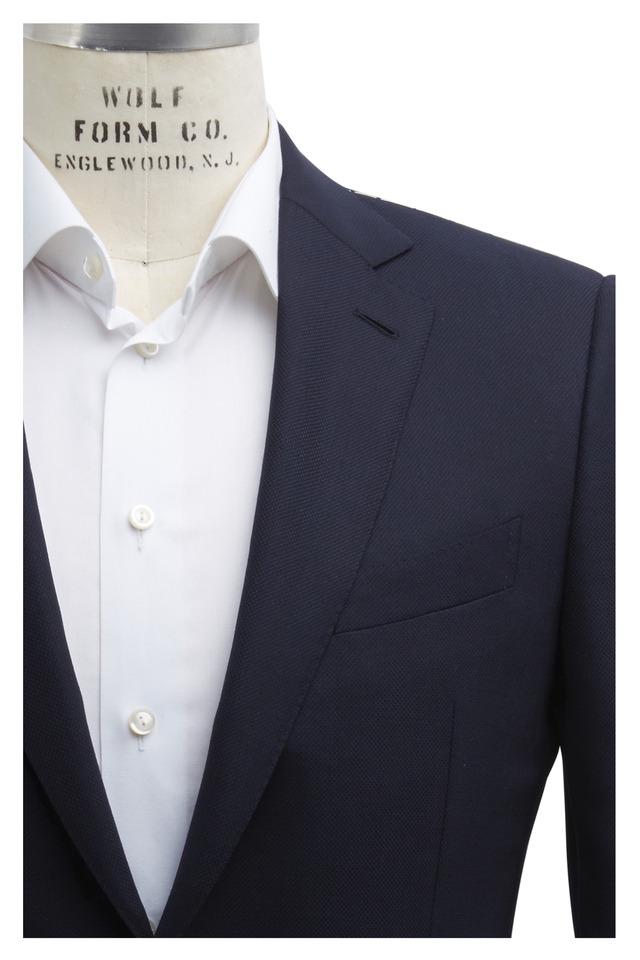 Navy Blue Wool Sportcoat