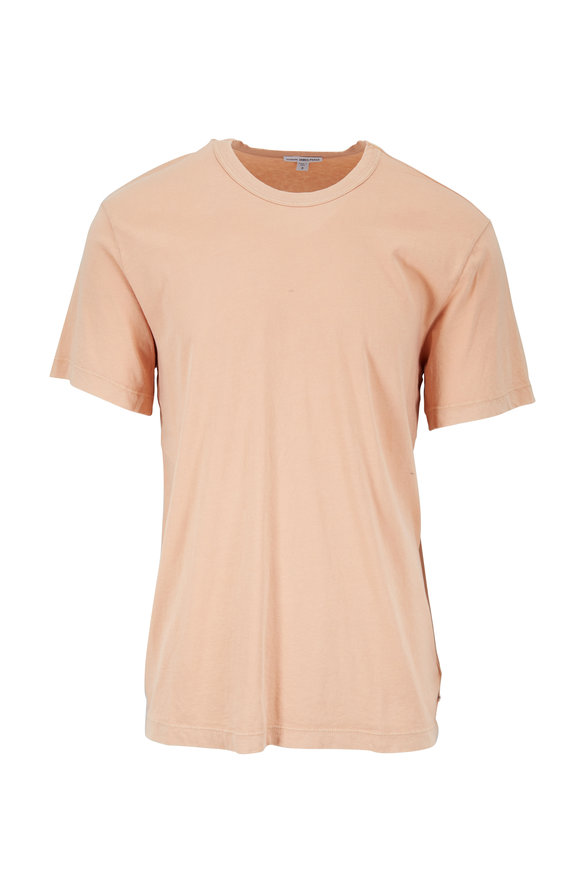 James Perse Squash Cotton Crewneck T-Shirt