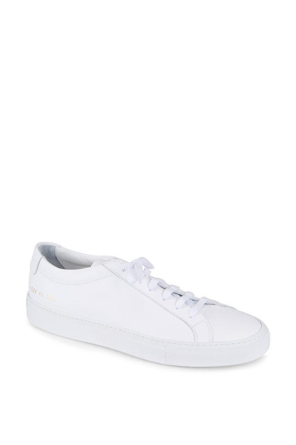 Common Projects Achilles White Leather Sneaker