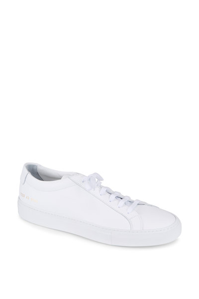 Common Projects - Achilles White Leather Sneaker