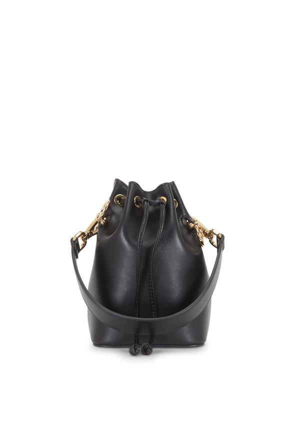 Fendi Mon Tresor Black Leather Mini Bucket Bag