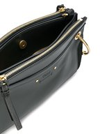 Chloé - Roy Black Leather & Suede Small Crossbody